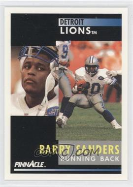 1991 Pinnacle - [Base] #250 - Barry Sanders