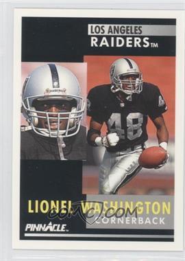1991 Pinnacle - [Base] #272 - Lionel Washington