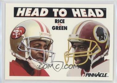 1991 Pinnacle - [Base] #355 - Jerry Rice, Darrell Green