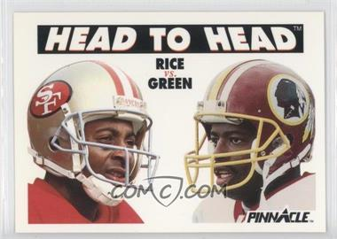 1991 Pinnacle - [Base] #355 - Jerry Rice, Darrell Green