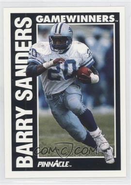 1991 Pinnacle - [Base] #366 - Barry Sanders