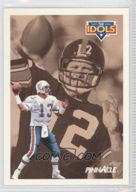 1991 Pinnacle - [Base] #385 - Dan Marino, Terry Bradshaw