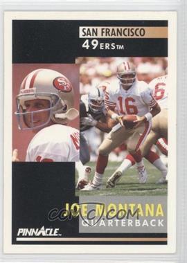 1991 Pinnacle - [Base] #66 - Joe Montana