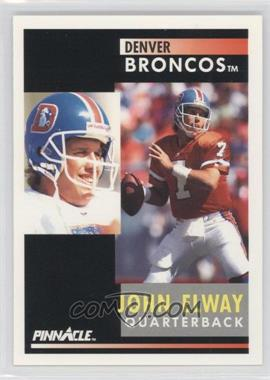 1991 Pinnacle - [Base] #7 - John Elway
