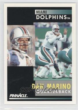 1991 Pinnacle - [Base] #70 - Dan Marino