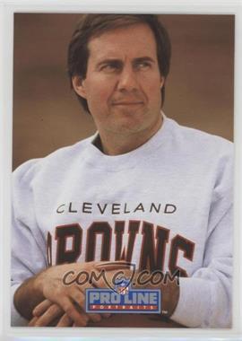 1991 Pro Line Portraits - [Base] #115 - Bill Belichick