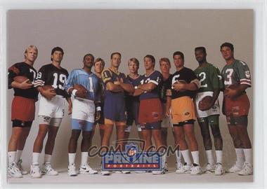 1991 Pro Line Portraits - Punt, Pass and Kick #3 - Checklist