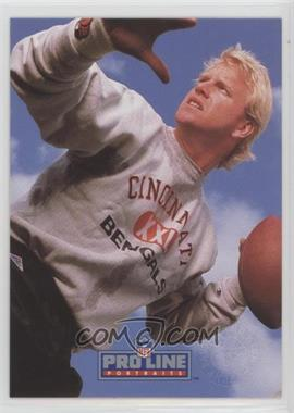 1991 Pro Line Portraits - Punt, Pass and Kick #5 - Boomer Esiason