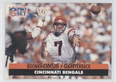 1991 Pro Set - [Base] #111 - Boomer Esiason