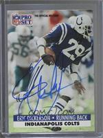 Eric Dickerson (Corrected: NFLPA Logo on Back) [JSA Certified Auto]