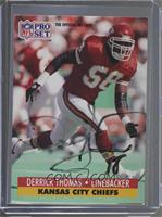 Derrick Thomas [JSA Certified COA Sticker]