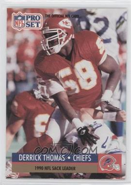 1991 Pro Set - [Base] #19.1 - Derrick Thomas (Error: Buffalo Bills Helmet on Front)