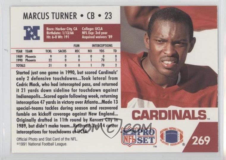 1991 Pro Set - [Base] #269 - Mark Tucker