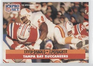 1991 Pro Set - [Base] #313 - Ervin Randle