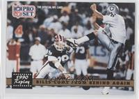 Bills Come From Behind Again (Steve Tasker, Jeff Gossett) (No NFLPA Logo on Bac…