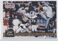 Bills Come From Behind Again (Steve Tasker, Jeff Gossett) (NFLPA Logo on back)