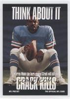 Think About It - Warren Moon (Large Text, No Card Number)