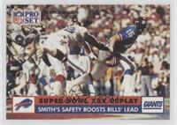 Smith's Safety Boosts Bills' Lead (Bruce Smith) (