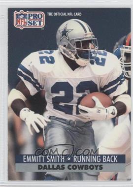 1991 Pro Set - [Base] #485 - Emmitt Smith