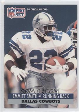 1991 Pro Set - [Base] #485 - Emmitt Smith