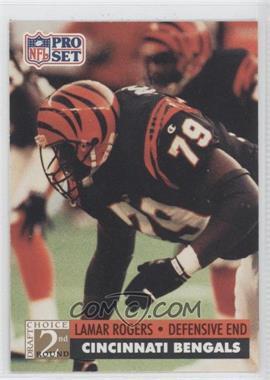 1991 Pro Set - [Base] #781 - Lamar Rogers