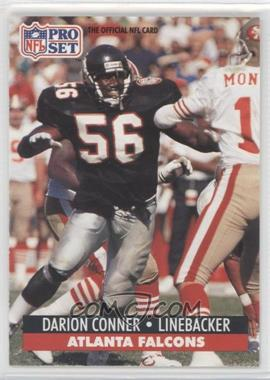 1991 Pro Set - [Base] #92.1 - Darion Conner (Error: 1st Round '99)