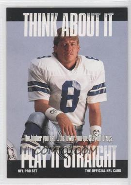 1991 Pro Set - [Base] #NoN - Troy Aikman