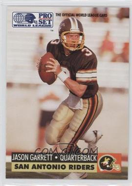 1991 Pro Set - WLAF Inserts #31 - Jason Garrett