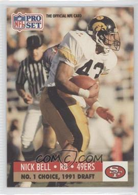 1991 Pro Set Draft Day - [Base] #694 - Nick Bell