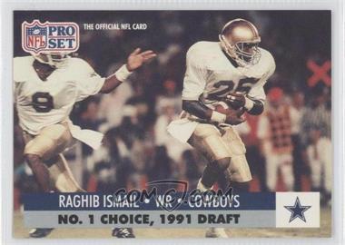 1991 Pro Set Draft Day - [Base] #694.2 - Rocket Ismail (Dallas)