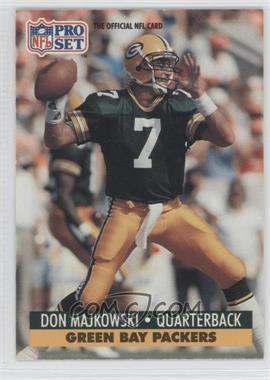 1991 Pro Set Mobil FACT - [Base] #156 - Don Majkowski