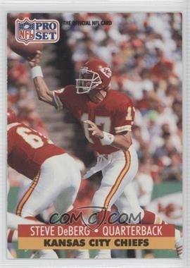 1991 Pro Set Mobil FACT - [Base] #182 - Steve DeBerg