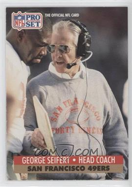 1991 Pro Set Mobil FACT - [Base] #297 - George Seifert