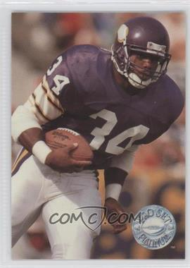 1991 Pro Set Platinum - [Base] #135 - Herschel Walker
