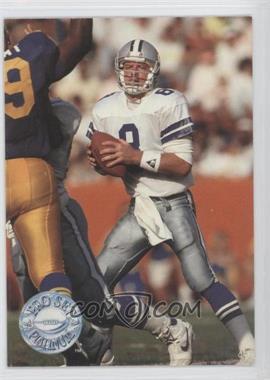 1991 Pro Set Platinum - [Base] #24 - Troy Aikman