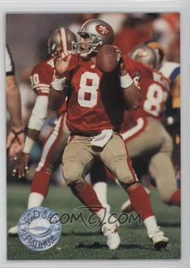 1991 Pro Set Platinum - [Base] #271 - Steve Young