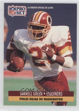 1991 Pro Set Spanish - [Base] #247 - Darrell Green