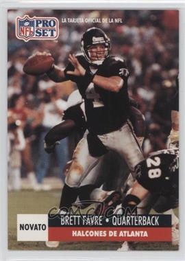 1991 Pro Set Spanish - [Base] #262 - Brett Favre