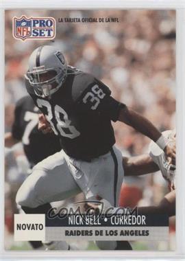 1991 Pro Set Spanish - [Base] #265 - Nick Bell