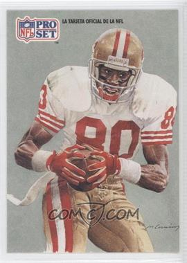 1991 Pro Set Spanish - [Base] #280 - Jerry Rice