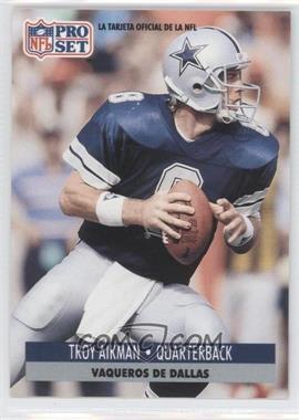1991 Pro Set Spanish - [Base] #46 - Troy Aikman