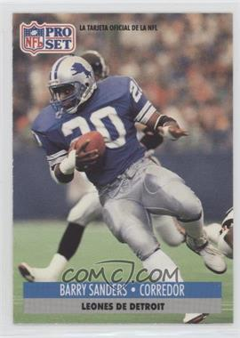 1991 Pro Set Spanish - [Base] #71 - Barry Sanders
