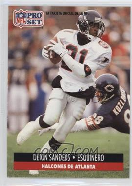 1991 Pro Set Spanish - [Base] #8 - Deion Sanders