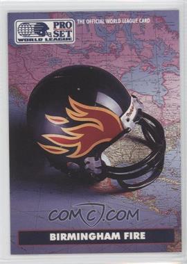 1991 Pro Set WLAF - [Base] #11 - Birmingham Fire (WLAF) Team