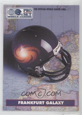 1991 Pro Set WLAF - [Base] #12 - Frankfurt Galaxy (WLAF) Team