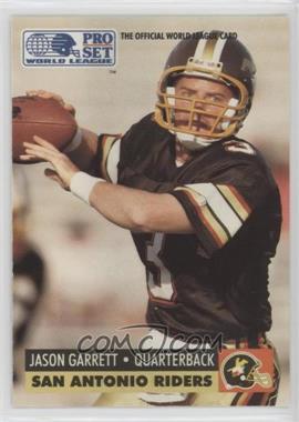 1991 Pro Set WLAF - [Base] #143 - Jason Garrett