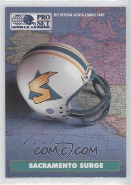 1991 Pro Set WLAF - [Base] #18 - Sacramento Surge (WLAF) Team