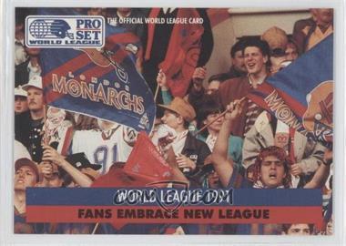 1991 Pro Set WLAF - [Base] #2 - World League 1991