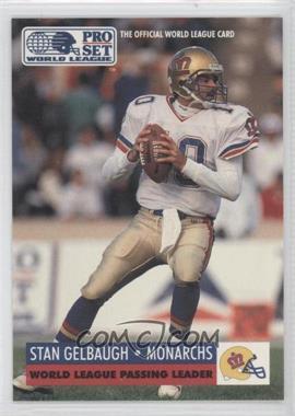1991 Pro Set WLAF - [Base] #21 - Stan Gelbaugh