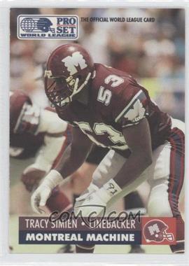 1991 Pro Set WLAF - [Base] #94 - Tracy Simien